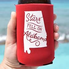 koozies for weddings southern koozie wedding favors alabama favors