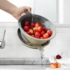 berry buddy berry strainer stoneware uncommongoods wants