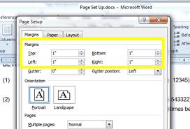 word layout pictures free microsoft word page layout tutorial ms word 2010 formatting