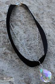 make swarovski crystal necklace images Doodlecraft chokers are back diy handmade swarovski crystal choker