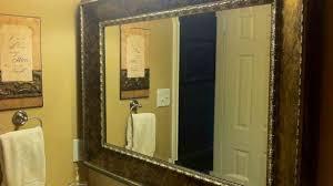 Mirror Framed Mirror Bathroom Excellent 12 Best Images Of Vanity Framed Mirror Bathroom