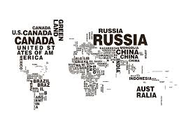 Cuba World Map by Poster Of A World Map Posters With Maps Black And White Prints