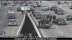 Houston Transtar Traffic Map Police Chase Ends In Accident On Eastex Freeway In Downtown