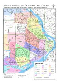 Portland Oregon County Map by Land Survey Information City Of West Linn Oregon Official Website