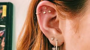 ear piercing ideas constellation piercings are a thing now and