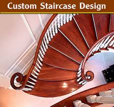 Custom Staircase Design Custom Built Curved Staircases Spiral Stairs Mi