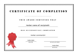 printable printable certificate of appreciation templates blank