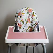 ikea antilop highchair cover sprigs u0026 blooms by yeahbabygoods