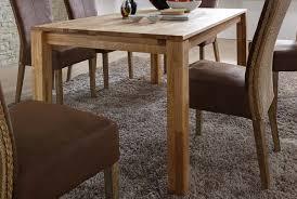 esszimmer tisch sale esszimmertisch esstisch eiche geölt 80 x 80 cm massivholz pepe
