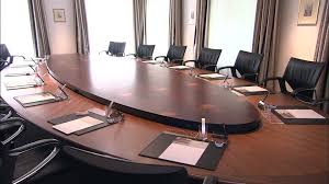 Quill Conference Table Table Business Meeting Switzerland Hd Stock Video 435 474