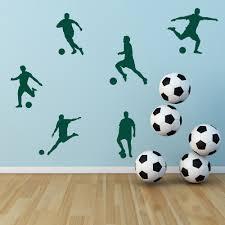 football wall stickers kcik119 full color wall decal soccer 37 football wall art soccer wall sticker