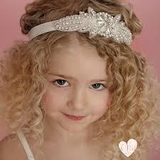 rhinestone headbands flower girl headband rhinestone headbandbaby headbands