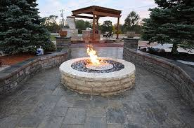 Fire Pit Glass by Gas Fire Pit Glass Stones Method Of Stacking The Fire Pit Stones