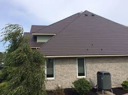 house measurements pictures of houses with brown metal roofs