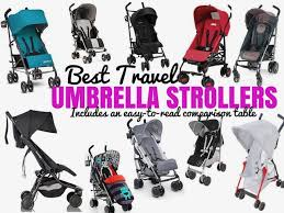 travel stroller images Best umbrella stroller for travel reviews 2018 chasing the donkey jpg