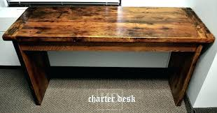 Diy Reclaimed Wood Desk Diy Reception Desk Build Your Own Reception Desk Remodel Ideas