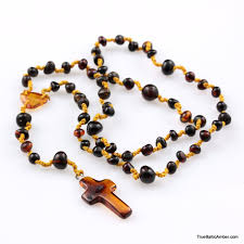 christian rosary rosary made of baltic