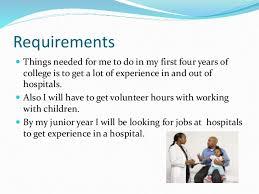 Pediatrician Resume Sample by Career Multimedia Assignment By Nancygaytan911 My Dream Job