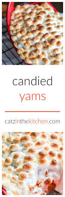 candied yams catz in the kitchen