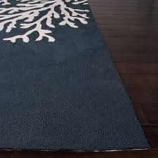 Jaipur Outdoor Rugs Jaipur Rugs Grant Bough Out 7 6 X 9 6 Indoor Outdoor Rug Blue