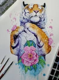 i paint the beauty i see in animals to remind us to preserve