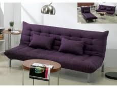 canap cuir prune canape convertible pas cher violet prune chic et confort