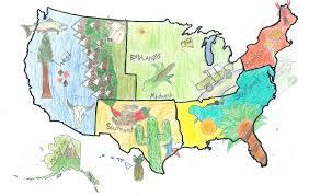 Us Regions Map Us Regions Thinglink
