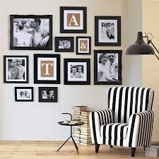 gallery frame black wall collection various sizes by picture that