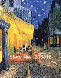 vicents bedroom sunflowers the cafe terrace starry night almond vicents bedroom sunflowers the cafe terrace starry night almond tree van gogh famous oil paintings hand made on canvas 1pcs in painting calligraphy