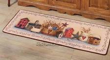 Primitive Kitchen Rugs Country Kitchen Rugs Ebay