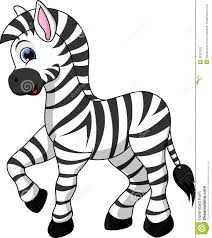zebra clipart for kids
