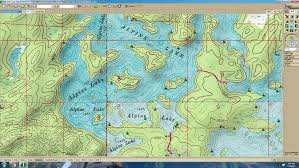 Delorme Maps Bwca Anyone Have An Alpine Topo Map Boundary Waters Fishing Forum