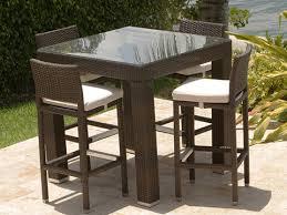 Rattan Bar Table Bar Seating China Outdoor Furniture Set Outdoor Furniture