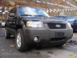 Ford Escape Horsepower - 2007 ford escape xlt v6 4wd in black a12221 nysportscars com