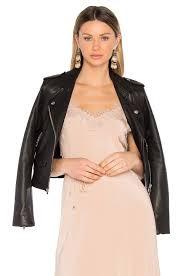 leather moto jacket iro ashville leather moto jacket in black revolve