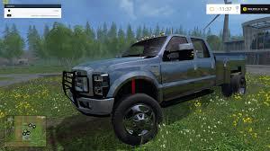 Ford F350 Diesel Trucks - f350 ford diesel pickup black truck farming simulator 2017