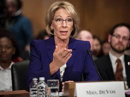 Who Is A Professional Secretary Donald Trump U0027s New Education Secretary Betsy Devos U0027donated Nearly