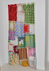 Shabby Chic Curtains Pinterest by Shabby Chic Curtain How To Post Made Entirely From Vintage Scarves