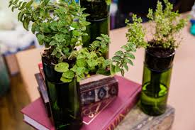 How To Make Self Watering Planters by Self Watering Wine Bottle Planters Home U0026 Family Hallmark Channel