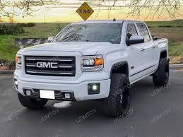 led lights for 2014 gmc sierra 2014 2015 gmc sierra 1500 40w high power led fog light kit