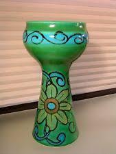Italian Vase Bitossi Yellow Italian Art Pottery Ebay