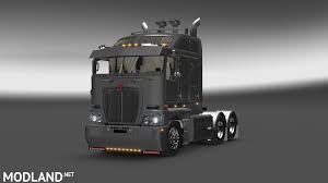 new truck kenworth ats kenworth k200 v14 mod for american truck simulator ats