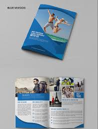 travel and tourism brochure templates free travel agency bifold brochure template graphic design