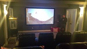 sweet basement home theater youtube