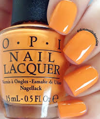 Shade Of Orange Names Opi