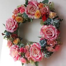 wedding wreaths pastoral south korea flower ornament door decorations new house