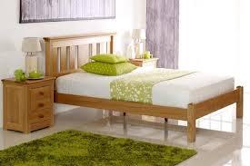 King Size Oak Bed Frame by Portman Solid Oak Bed Frame 5ft King Size The Oak Bed Store