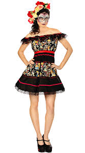 day of the dead costumes of the dead costume womens fancy dress mexican day of the