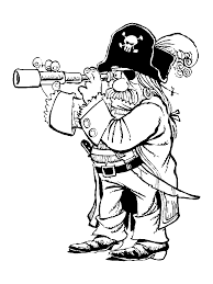 pirate coloring page redcabworcester redcabworcester