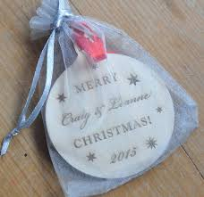Baby First Christmas Bauble Personalised by Personalised Wooden Baby U0027s First Christmas Bauble By Sweet Pea